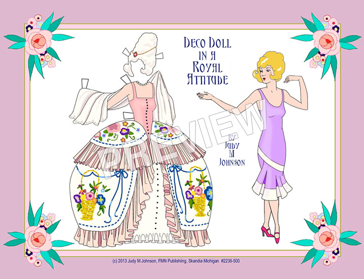 Deco Royal Paper Doll