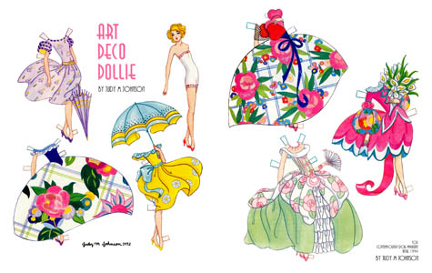 Art Deco Dollie