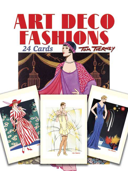 Art Deco Fashions Post Cards