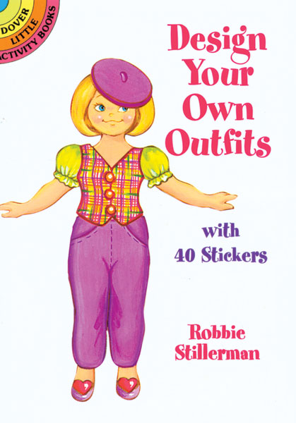 Design Your Own Outfits Sticker Paper Doll