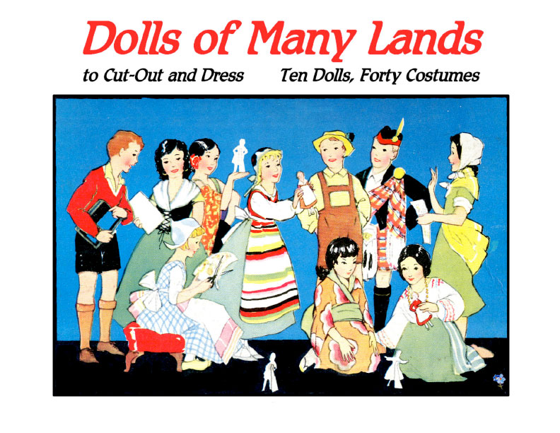 Dolls of Many Lands Paper Dolls