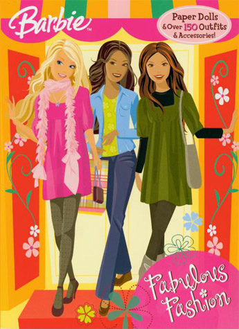 Fabulous Fashion Barbie Paper Dolls