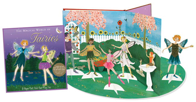 Fairies Paper Doll Playset