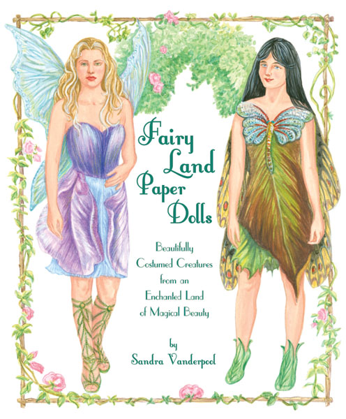 Fairy Land Fairy Paper Dolls