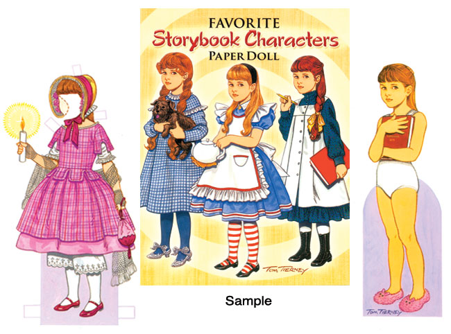 Favorite Storybook Characters Paper Dolls [Memorable Storybook