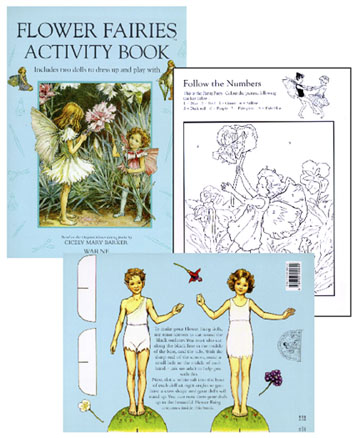 Flower Fairies Activity Book - Click Image to Close