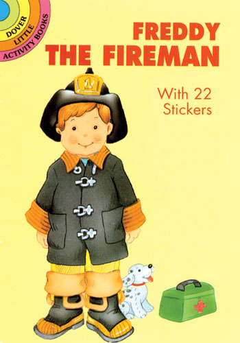 Freddy the Fireman Sticker Paper Doll