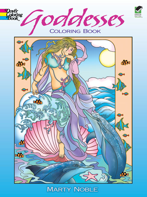 Goddesses Coloring Book