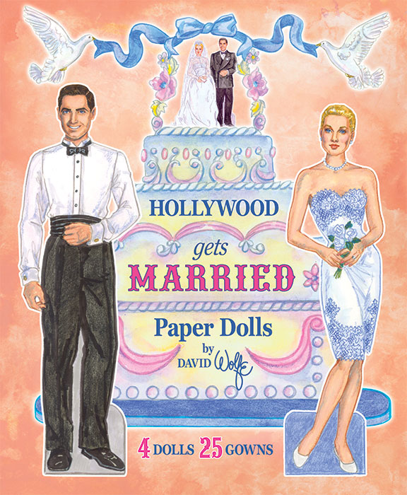 Hollywood Gets Married Paper Dolls