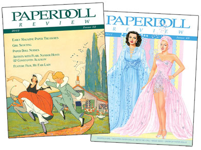 4-issue subscription to Paperdoll Review magazine