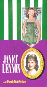 Janet Lennon Punch-Out Paper Dolls