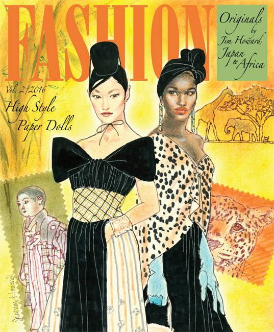 Fashion Originals by Jim Howard, Vol 2, Japan and Africa