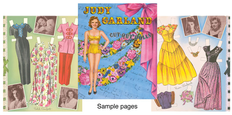 Judy Garland Paper Dolls - Click Image to Close