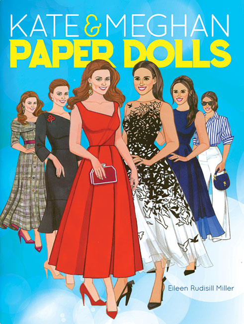 Kate & Meghan Paper Dolls