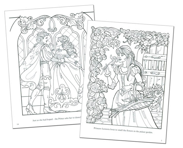 Princess Paper Doll Coloring Pages Fun Printables Princess Paper