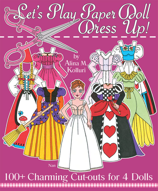 Let's Play Paper Doll Dress Up!