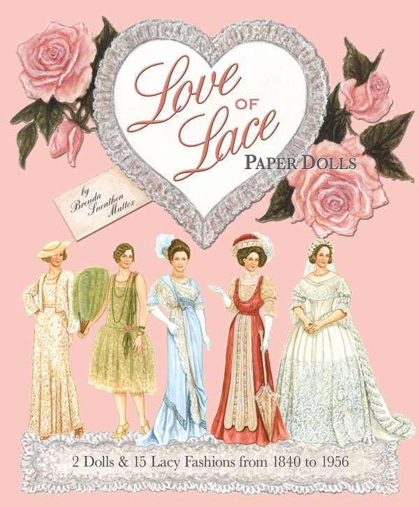 Love of Lace Paper Dolls