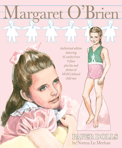 Margaret O'Brien Paper Dolls - Click Image to Close