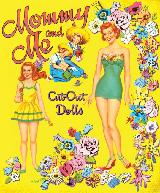Mommy and Me Paper Dolls