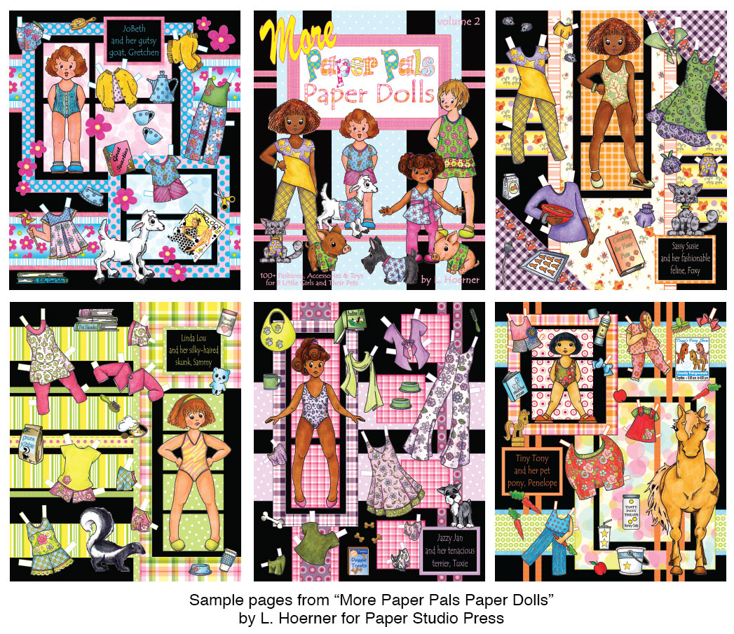 More Paper Pals Paper Dolls - Click Image to Close