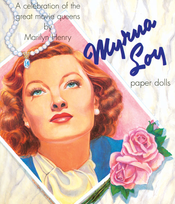 Myrna Loy Paper Doll - 1 copy left!