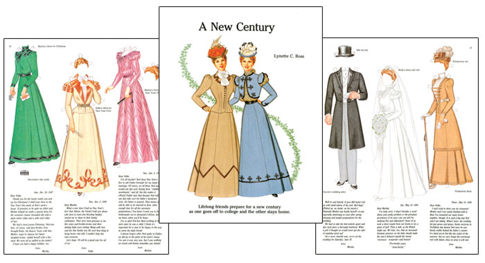 A New Century - Late Victorian Era Paper Dolls