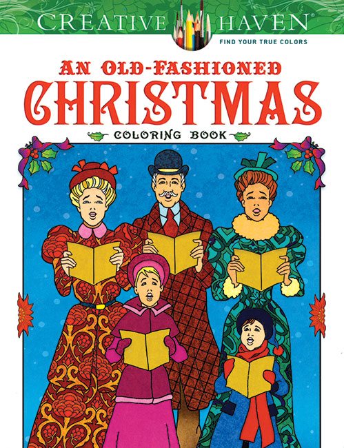 Old-Fashioned Christmas Coloring Book