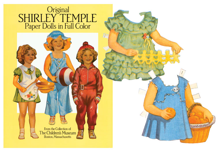 Original Shirley Temple Paper Doll