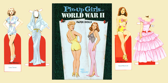 Pin-Up Girls of WW II - Click Image to Close