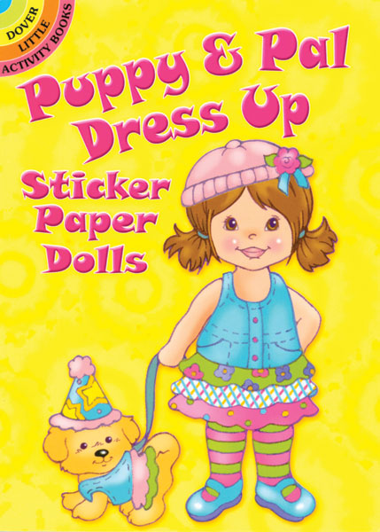 Puppy & Pal Dress Up Sticker Paper Dolls