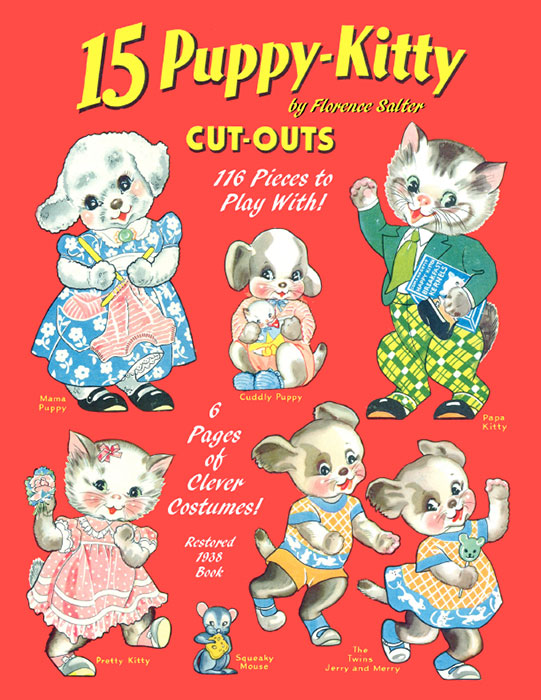 Puppy Kitty Cut Outs - Click Image to Close