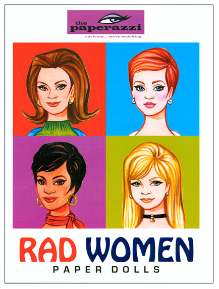 Rad Women Paper Dolls