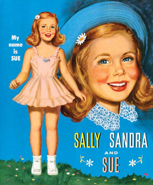 Sally Sandra and Sue Paper Dolls - Click Image to Close