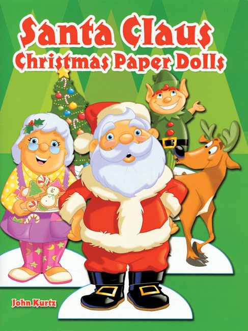 Santa Claus Christmas Paper Dolls