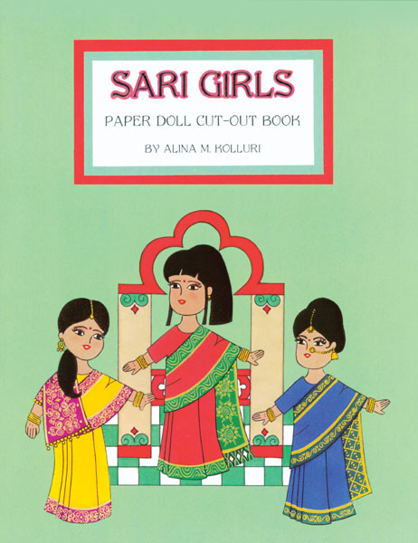 Sari Girls Paper Dolls