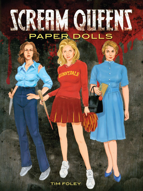 Scream Queens Paper Dolls