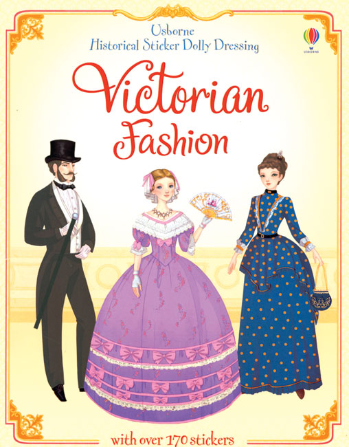 Victorian Fashion Sticker Paper Doll
