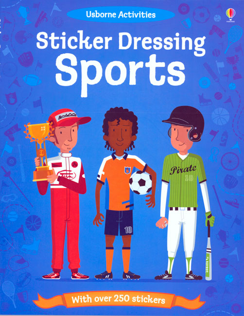Sticker Dressing Sports Activity Book