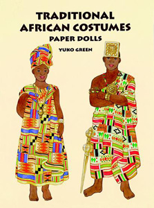 Traditional African Costumes Paper Dolls