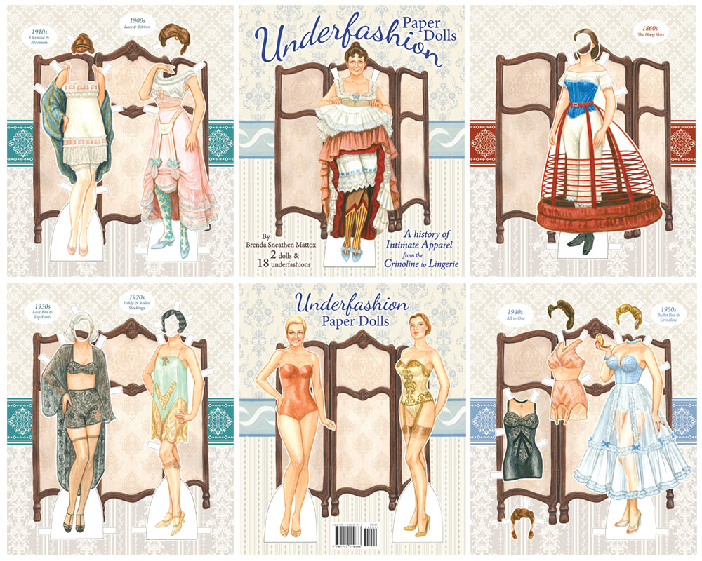 Underfashion Paper Dolls