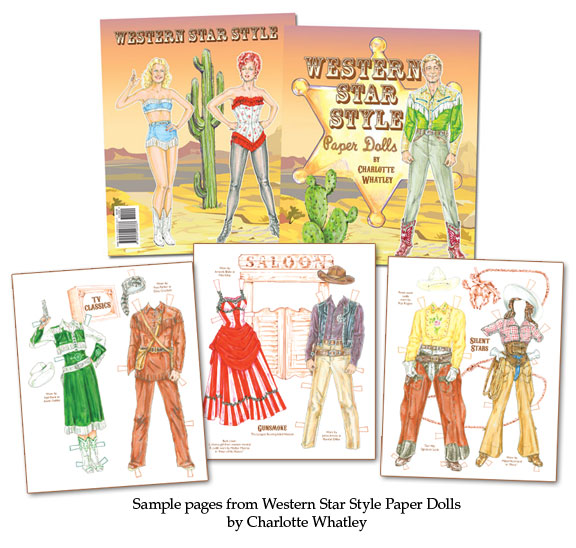 Western Star Style Paper Dolls - Click Image to Close
